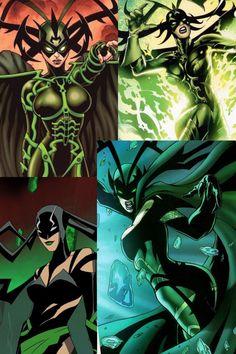 Hela Female Superheroes And Villains, Female Comic Characters, Marvel And Dc Characters, Superhero Villains, Marvel Villains, Marvel Comic Character, Marvel Heroes, Marvel Avengers, Marvel Hela