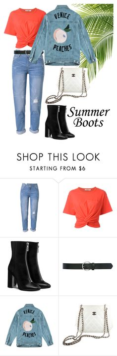 """""""Day #44"""" by andick on Polyvore featuring moda, WithChic, T By Alexander Wang, M&Co, Être Cécile e Chanel"""