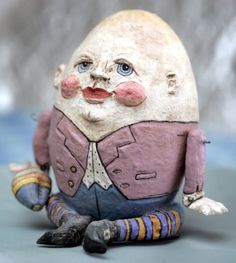 Humpty Dumpty from Rita Trotter`s Decorative Egg Collection
