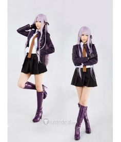 Danganronpa Trigger Happy Havoc Kyouko Kirigiri cosplay
