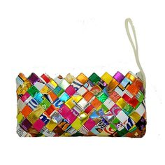 Handmade, Eco Friendly, Fair Trade, Upcycled, Mexican Wristlet
