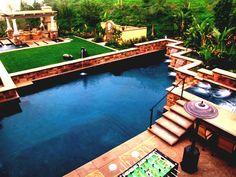 Nach Hause Hinterhof Design Ideen Auf Einem Budget Pool Midcenturypact  #Gartendeko
