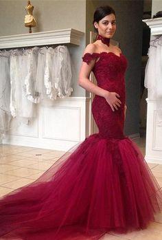 Güntige weinrot Brautkleider Hochzeitskleider mit spitze nach Mäßig kaufen.168€