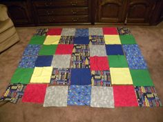 Another quilt for a needy family.