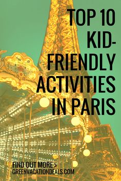 Things To Do in Paris with Kids – Find out what the top 10 family friendly Paris activities are. Discover how to enjoy a Paris trip with children thanks to these great kid friendly activities in Paris France! Tips for Paris Travel with Kids #Kids #Paris #France #FamilyTravel #DisneylandParis #Asterix #Thoiry #Orsay #ParisOperaHouse #EiffelTower #Carousel  #LaMarais #TreasureHunt #Aquarium #Safari #Chocolate #JardinduLuxembourg
