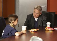 Mark Harmon and Millie Bobby Brown in NCIS: Naval Criminal Investigative Service (2003)