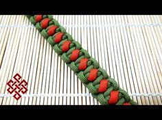 Solomon's Slanted Path Paracord Bracelet Tutorial - YouTube