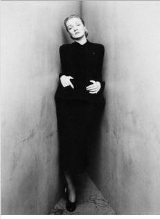 Marlene Dietrich by Irving Penn.