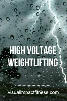 What is High Voltage lifting? Why does it make you irresistibly sexy? Why do birds suddenly appear, every time...you are near? via @rustymoore