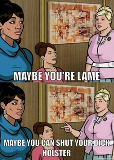 Pam has got to be my favorite character from Archer.