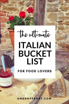 Italy Travel Tips: Our Ultimate Italian Bucket list for Food Lovers. A list of delicious foods to taste and food and wine experiences to have no matter where you are in Italy! Cinque Terre, Milan Food, Italy Vacation, Italy Trip, Italy Italy, European Vacation, Italy Honeymoon, Italy Food, Toscana Italy