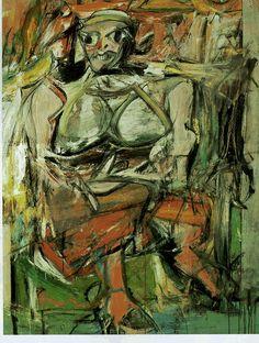 Daily Artist: Willem de Kooning (April 24, 1904 – March 19, 1997)