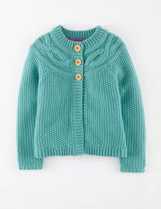 Cable Cardigan 31805 Cardigans at Boden
