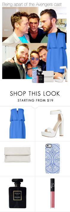 """""""Being apart of the Avengers cast"""" by thatweirdgirlkris ❤ liked on Polyvore featuring BCBGMAXAZRIA, Whistles, Uncommon, Chanel and NARS Cosmetics"""