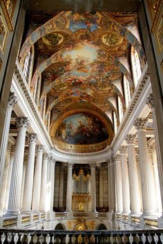 : Chateau De Versailles Royal Chapel. by Liam Cheasty, via Flickr