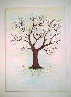 Svatební strom 50x70