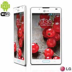 Smartphone LG Optimus L7 II LGP714 Branco com Processador Dual Core 1Ghz, Android 4.1, Câmera de 8MP com Flash, Wi-Fi, - fastshop.com.br
