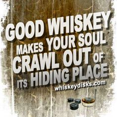 Good whiskey can save the soul. #bourbon
