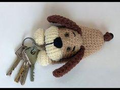 Crochet animals, Handmade Key Case, Amigurumi pattern, Crochet Key Cover, Handmade toy - YouTube