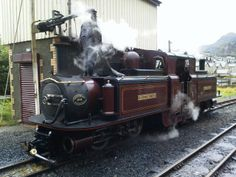 Ffestiniog Railway in Blaenau-Ffestiniog, Gwynedd