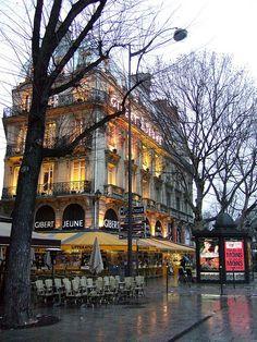 Gibert Jeune, great 1st and 2nd hand bookstore, Quartier Latin, Paris