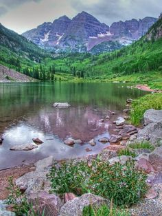 ✮ Maroon Bells in the Maroon Bells National Preserve, Aspen, Colorado