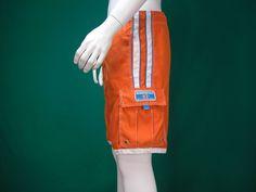 Aeropostale Designer Orange drawstring swim board surf Cargo shorts Mens XSmall  #Aeropostale #BoardSurf