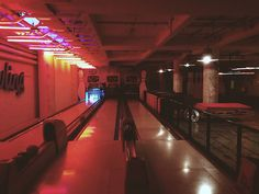 A Pop-Up Bowling Center In A Nightclub, Club Trouw, Amsterdam, NL