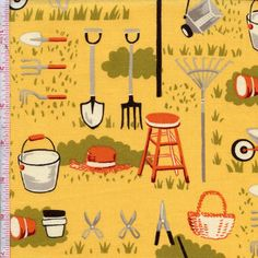 Farmyard By Sentimental Studio For Moda Fabrics Colors: Squash $5.98/y