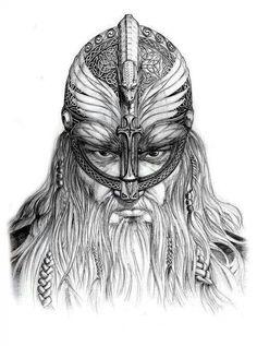 Warrior Unknown artist.