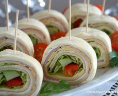 Mini tortille – przekąska idealna na imprezę