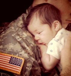 i wanna marry a military man and have a kid with him and take a picture like this. i want this!