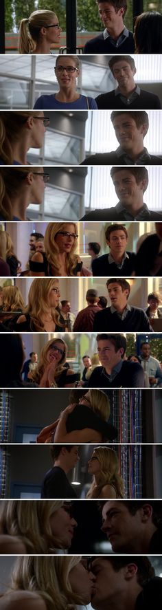 Felicity Smoak & Barry Allen