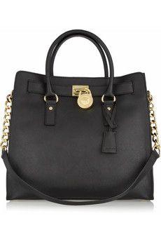 MICHAEL Michael Kors Hamilton Large Textured Leather Tote-- One of the best bags I've ever owned. Michael Kors Hamilton, Cheap Michael Kors, Mk Handbags, Handbags Michael Kors, Michael Kors Bag, Purses And Handbags, Designer Handbags, Michael Khors, Designer Bags