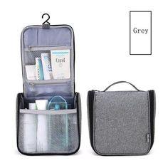 4d553f2012 Travelsky Portable Travel Cosmetic Bag Men and Women Large Capacity Makeup  Bag Hanging Toiletry Wash Bag Make up Organizer