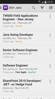 Monster Job Search- screenshot