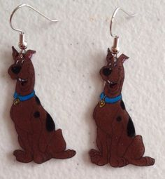 Scooby Doo Earrings By Genesiscrafts On Etsy 5 00