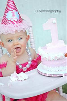 Claire's First Birthday pic! :)
