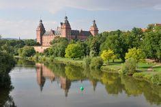 Schloss Johannisburg Aschaffenburg castle! This is in the town my grandparents live!