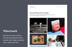 Watermark WordPress Theme