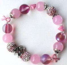 Gifts for Mom, Sister, Grandma, Wife.  https://www.etsy.com/listing/277176180/s-bracelet-ft-ke-a-bat-breast-cancer