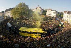 BVB Meisterfeier, Borsigplatz, Dortmund  Danke, Jungs!