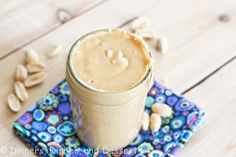 Homemade Peanut Butter - finally I came across a PB recipe that actually contains some sweetener!