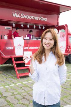 #Hyojin Gong / Kong #공효진 - Smoothie King endorser Gong Hyo Jin