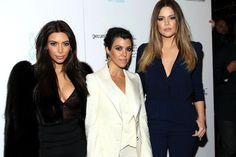 Kourtney Kardashian - Charity Event at 10AK With Kim and Khloe