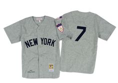 Mickey Mantle 1951 Authentic Jersey New York Yankees Mitchell & Ness Nostalgia Co.