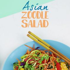Zoodles are everyone's favorite gluten free alternative to noodles. Thats why our Asian Zoodles with Mandarin Oranges has lots of flavor in one crunchy zesty dish. Asian Recipes, Vegetarian Recipes, Cooking Recipes, Healthy Recipes, Veggie Recipes, Zoodle Recipes, Chinese Recipes, Healthy Options, Benefits Of Gluten Free Diet