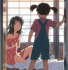 Animator : Shinkai Makoto, Kimi no na wa, Your name, หลับตาฝัน ถึงชื่อเธอ, Fanmade, Miyamizu Mitsuha (Taki inside)
