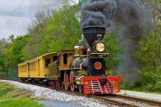 Steam into History Inc.  Running rain or shine!!!