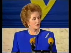 "Margaret Thatcher - Speech to the College of Europe (""The Bruges Speech"") - YouTube"